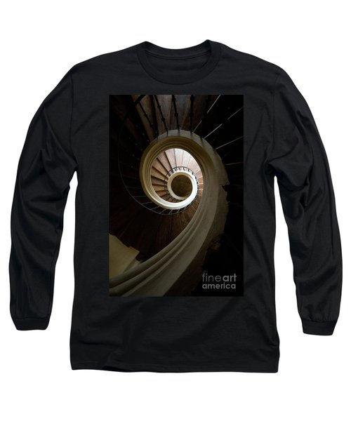 Wooden Spiral Long Sleeve T-Shirt
