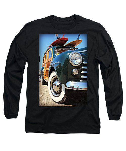 Woodie On The Wharf Long Sleeve T-Shirt
