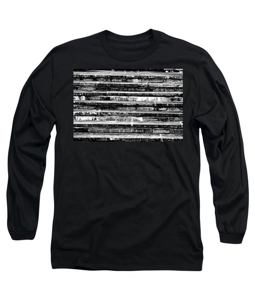 Words Of The Cross Long Sleeve T-Shirt