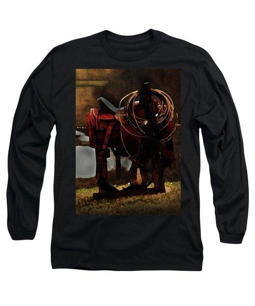 Working Man's Saddle Long Sleeve T-Shirt