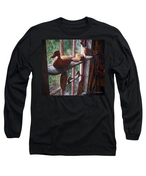 Workshop Window Long Sleeve T-Shirt by Brian Wallace