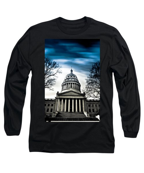 Wv State Capitol Building Long Sleeve T-Shirt by Shane Holsclaw