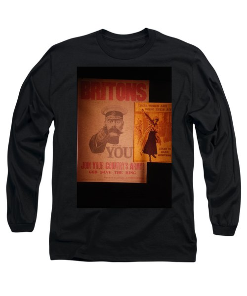 Ww1 Recruitment Posters Long Sleeve T-Shirt