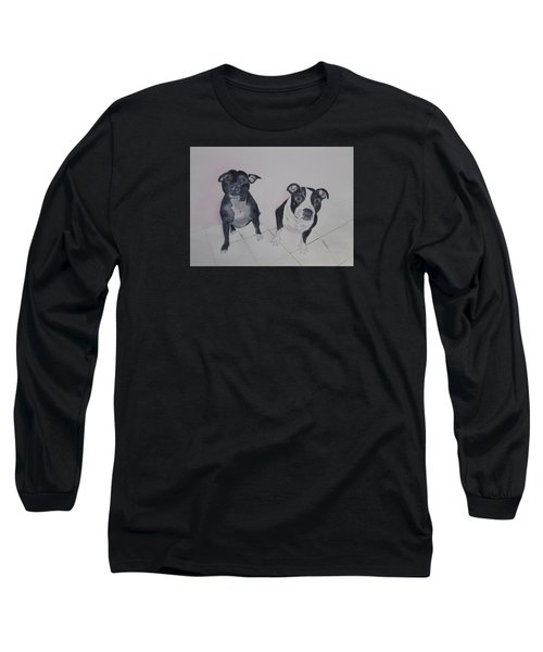 Are You Looking At Me Long Sleeve T-Shirt by Elvira Ingram