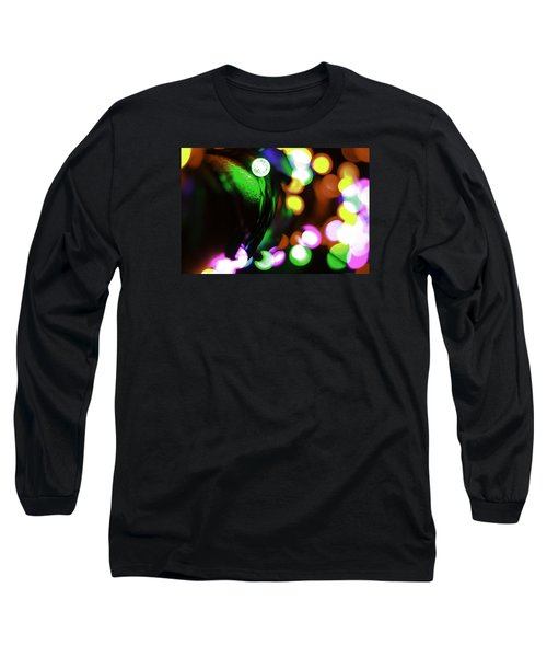 Long Sleeve T-Shirt featuring the photograph Xmas Lite by Michael Nowotny