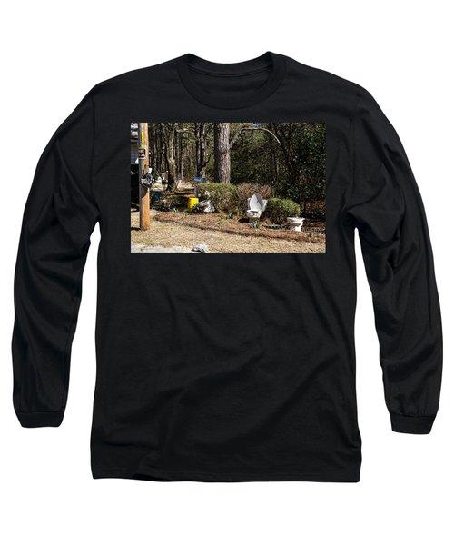 Yard Art Hwy 21 South Long Sleeve T-Shirt