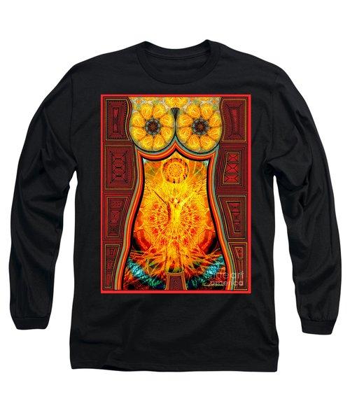 Yearning-spirit Rising Long Sleeve T-Shirt by Joseph J Stevens