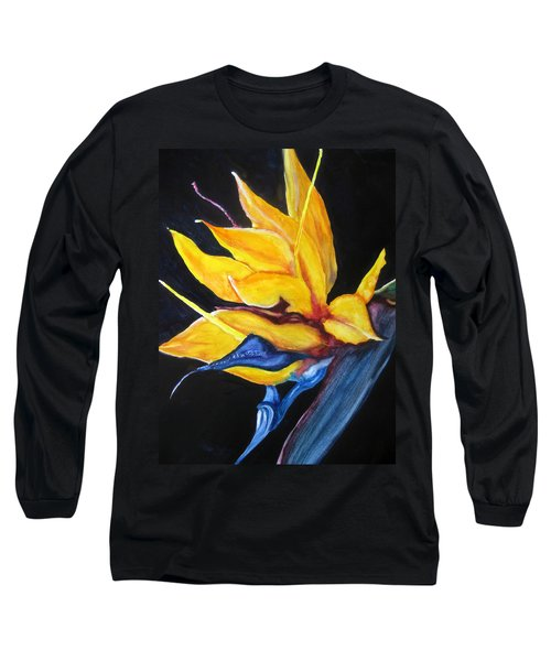 Yellow Bird Long Sleeve T-Shirt by Lil Taylor