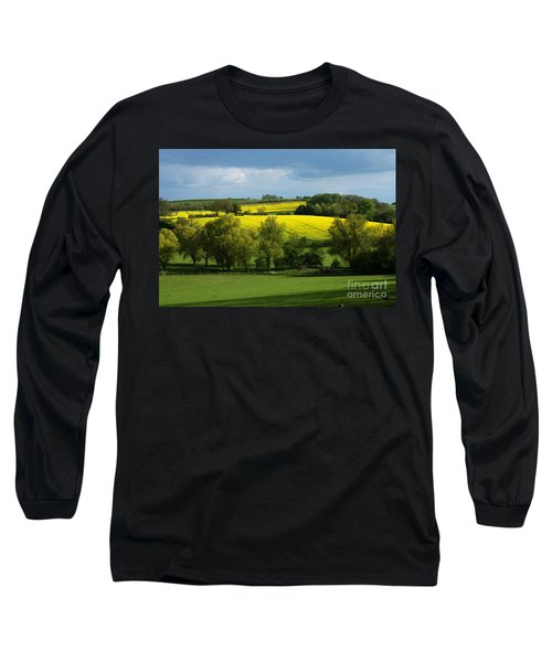 Yellow Fields In The Sun Long Sleeve T-Shirt