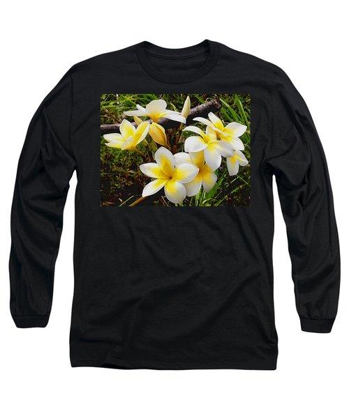 Yellow Flowers 1 Long Sleeve T-Shirt
