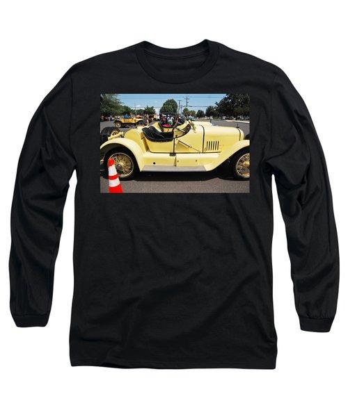 Yellow Mercer Long Sleeve T-Shirt