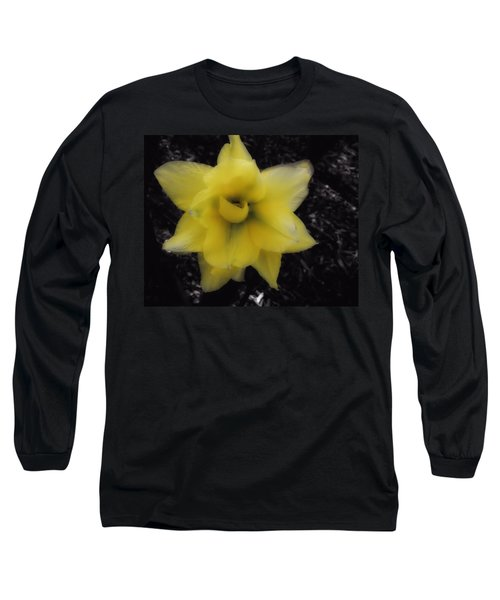 Yellow Parrot Tulip Long Sleeve T-Shirt