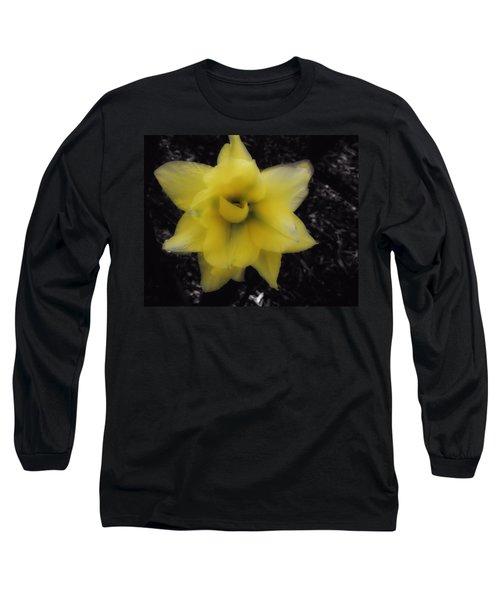 Yellow Parrot Tulip Long Sleeve T-Shirt