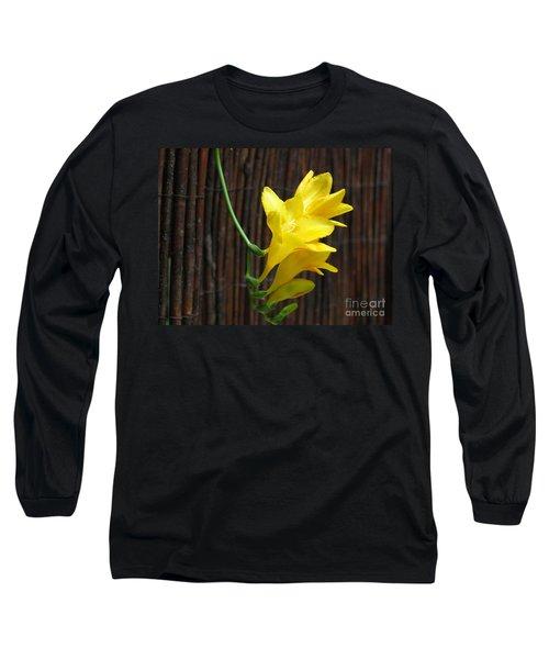 Yellow Petals Long Sleeve T-Shirt