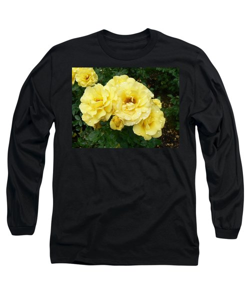 Long Sleeve T-Shirt featuring the photograph Yellow Rose Of Pa by Michael Porchik