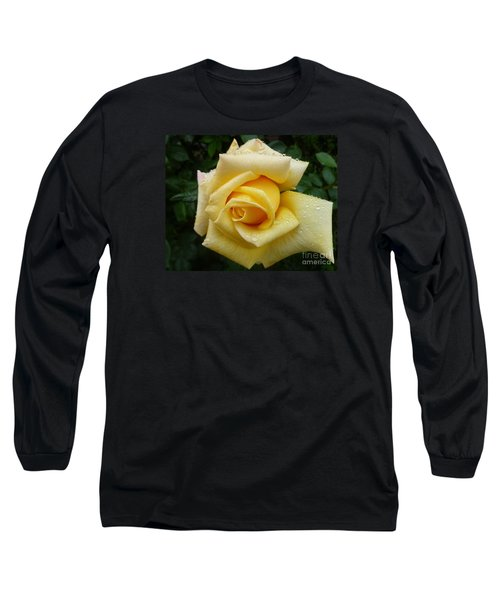 Yellow Rose Say Goodbye Long Sleeve T-Shirt