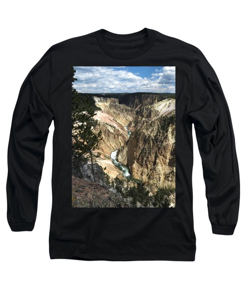 Yellowstone Canyon Long Sleeve T-Shirt by Laurel Powell