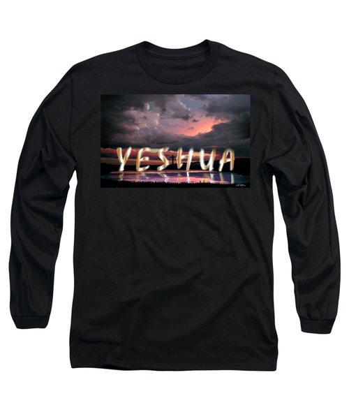 Yeshua Long Sleeve T-Shirt by Bill Stephens