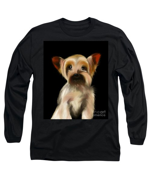 Yorkshire Terrier Pup Long Sleeve T-Shirt