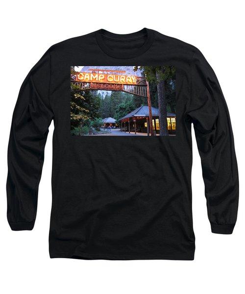 Yosemite Curry Village Long Sleeve T-Shirt