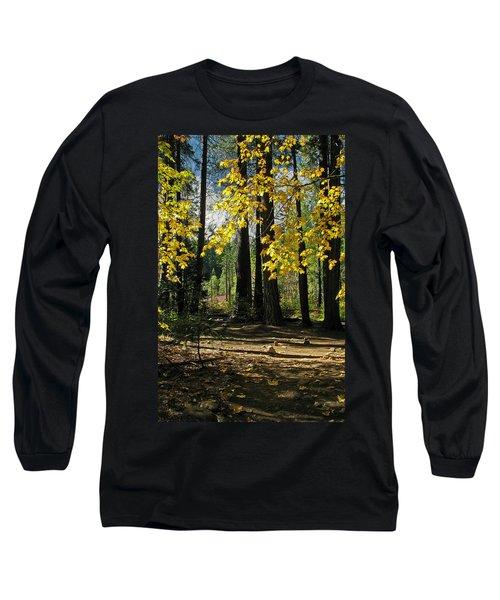 Long Sleeve T-Shirt featuring the photograph Yosemite Fen Way by John Haldane