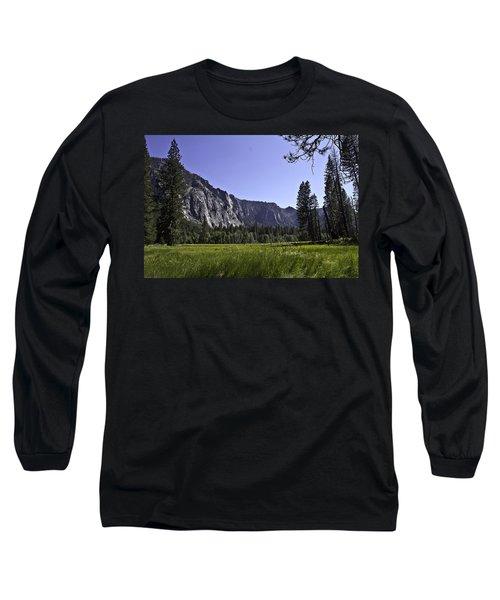 Yosemite Meadow Long Sleeve T-Shirt by Brian Williamson