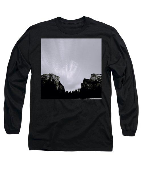 Yosemite National Park Long Sleeve T-Shirt by Shaun Higson