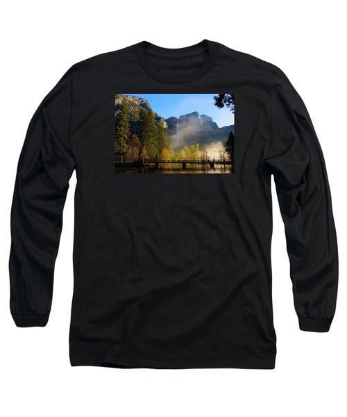 Yosemite River Mist Long Sleeve T-Shirt