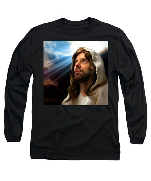 You Are Loved Long Sleeve T-Shirt by Karen Showell