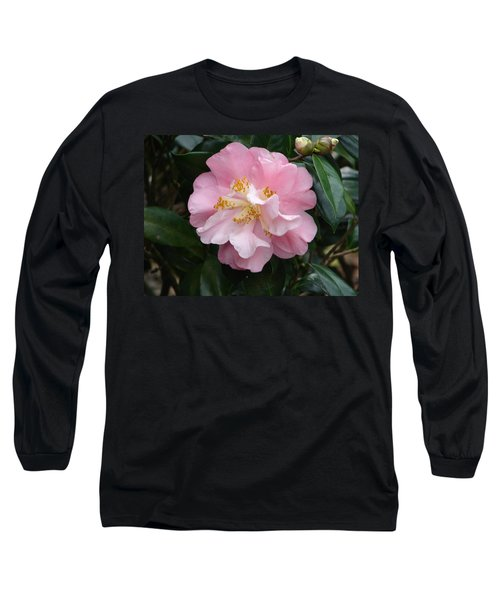 Long Sleeve T-Shirt featuring the photograph You Make Me Blush by Lew Davis