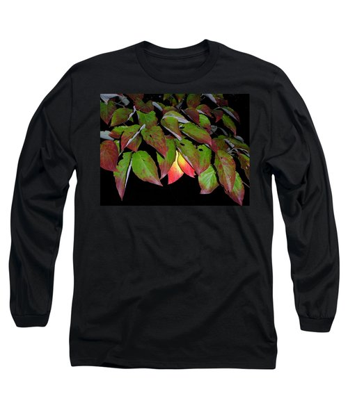 Long Sleeve T-Shirt featuring the photograph Your Colors Are Showing by Lew Davis
