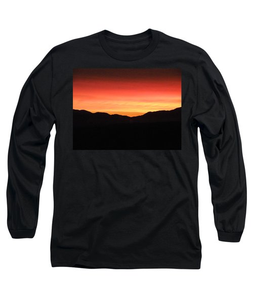 Yukon Gold And Crimson Long Sleeve T-Shirt by Brian Boyle