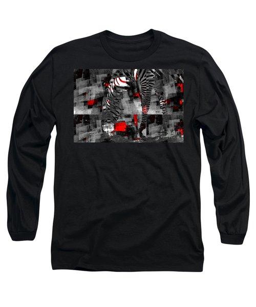 Zebra Art - 56a Long Sleeve T-Shirt
