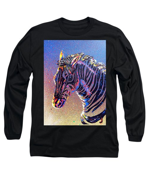 Zebra Fantasy Long Sleeve T-Shirt