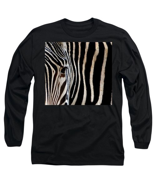 Zebras Face To Face Long Sleeve T-Shirt