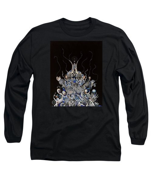 Zebratiki Long Sleeve T-Shirt by Douglas Fromm