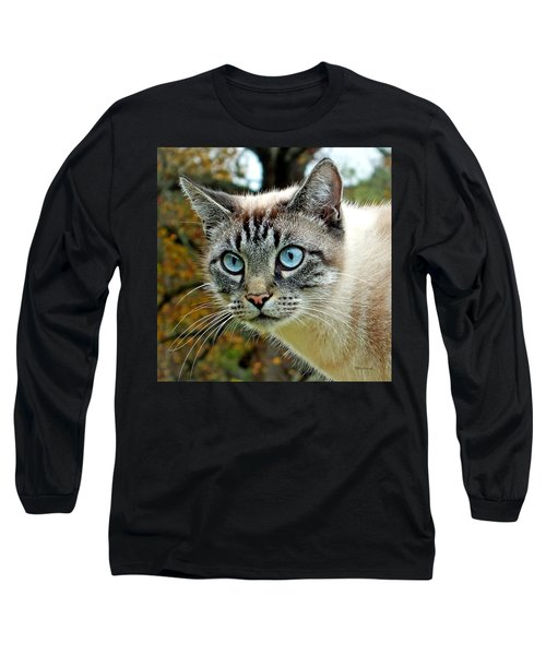 Zing The Cat Upclose Long Sleeve T-Shirt