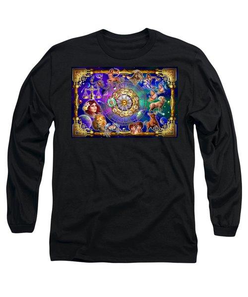 Zodiac 2 Long Sleeve T-Shirt by Ciro Marchetti