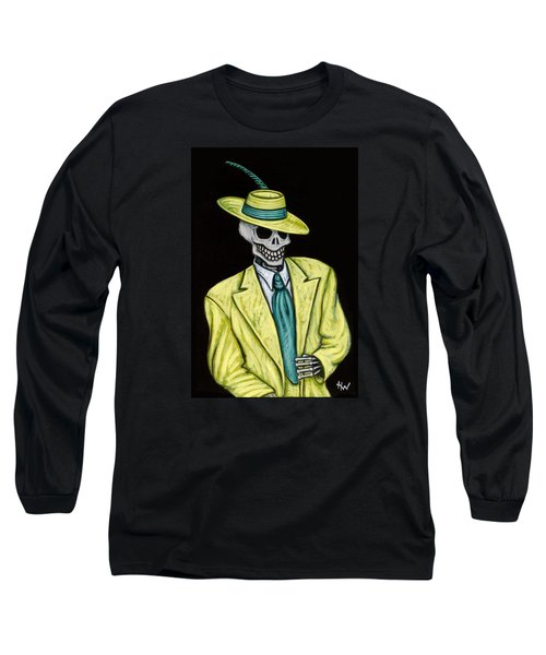 Zoot Of The Living Dead Long Sleeve T-Shirt by Holly Wood