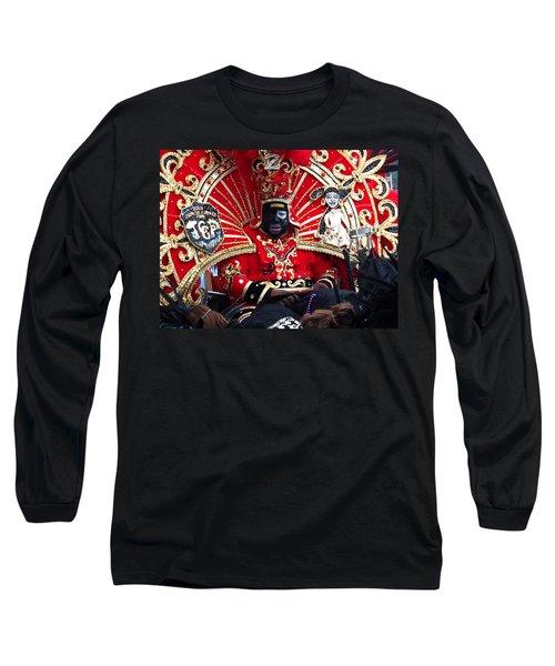 Zulu Mardi Gras Long Sleeve T-Shirt by Steve Archbold