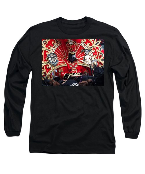 Zulu Mardi Gras Long Sleeve T-Shirt