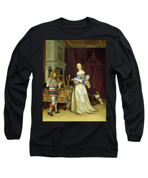 A Lady At Her Toilet Long Sleeve T-Shirt