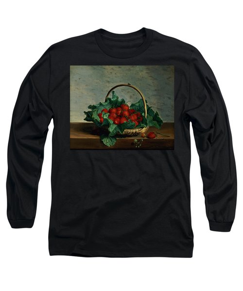 Basket Of Strawberries Long Sleeve T-Shirt