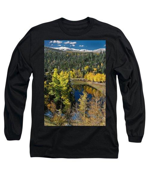 Fall Color On Bobcat Pass Long Sleeve T-Shirt