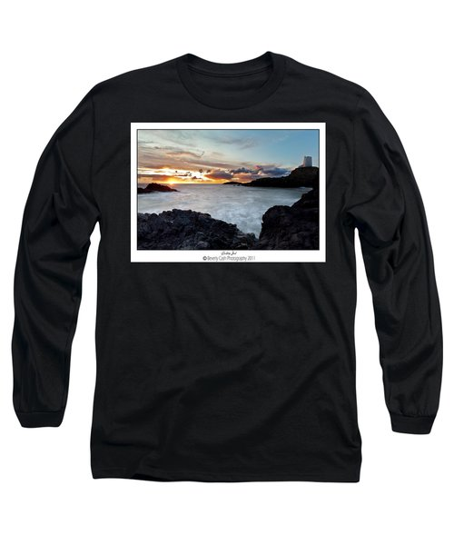 Llanddwyn Island Sunset Long Sleeve T-Shirt