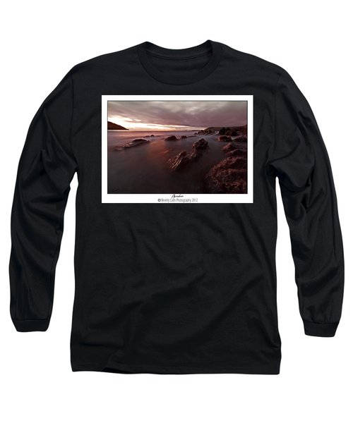 Manorbier Dusk Long Sleeve T-Shirt