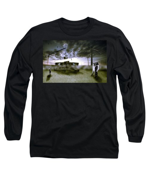 Who's Watching Who. Long Sleeve T-Shirt