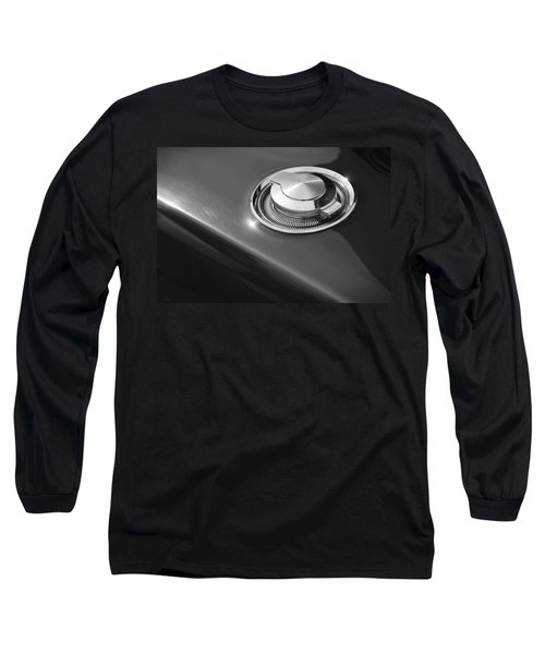 Long Sleeve T-Shirt featuring the photograph 1968 Dodge Charger Fuel Cap by Gordon Dean II