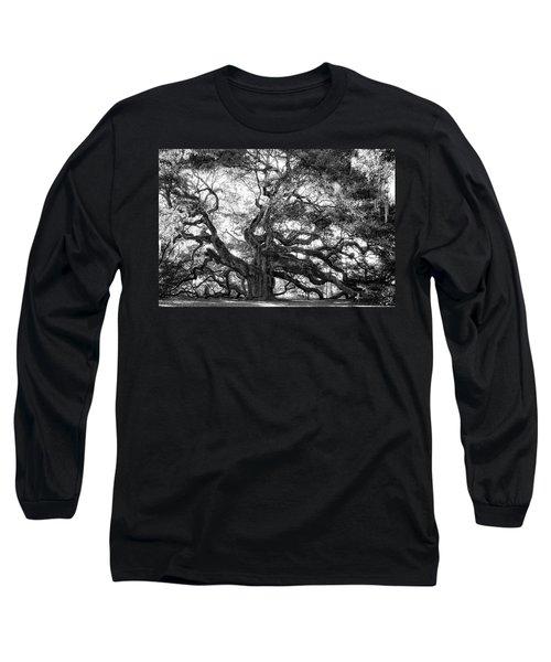 Long Sleeve T-Shirt featuring the photograph Angel Oak by Lynne Jenkins