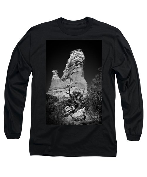 Arches National Park Bw Long Sleeve T-Shirt